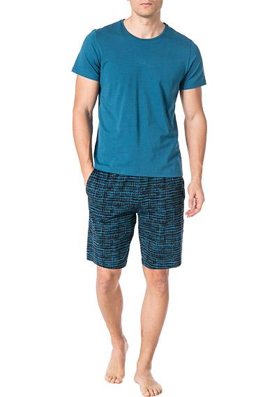 Adidas Originals Check SH Bade Hose Short karo kariert blau