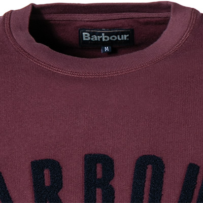 Barbour Sweatshirt Prep Logo merlot MOL0101RE94 (Dia 2/2)