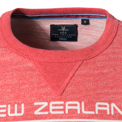 N.Z.A. Sweatshirt 18MN300/cranberry red (Dia 2/2)