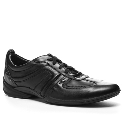 Clarks Flux Spring black leather 20339055G (Dia 1/2)